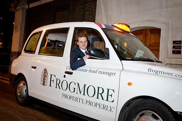 Triathlete Alistair Brownlee at Frogmore drinks reception.