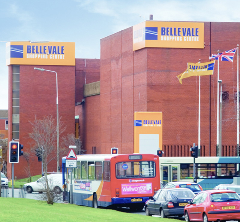 Belle Vale Shopping Centre, Liverpool