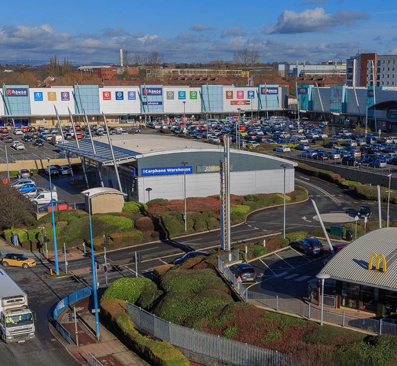 West One Shopping Centre, Eccles, Greater Manchester